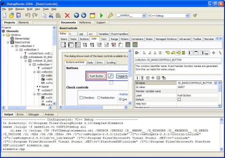 DialogBlocks under Windows XP